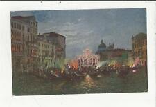 80247 ANTICA CARTOLINA DI VENEZIA  1921