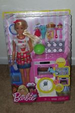 Barbie Bakery Chef Playset Food Accessories Colorful Pieces Bakers