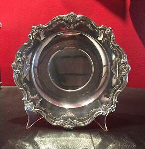 """Vintage Gorham Chantilly Silverplate 10-1/2"""" Sandwich / Dessert Plate YC1312"""