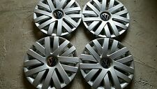 """NEW SET of 4 61559 16"""" Hubcaps Wheelcovers for 2010-2014 VW Volkswagen JETTA"""