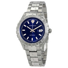 Versace Hellenyium Blue Dial Automatic Mens Watch VZI030017