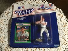 """STARTING LINEUP ACT FIG 5"""" Braves. Dale Murphy. Orig. Package. Green Card. 1989"""