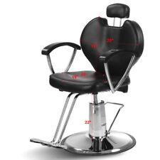 Black Fashion Hydraulic Recline Barber Salon SPA Shampoo Hair cut Chair NEW ++
