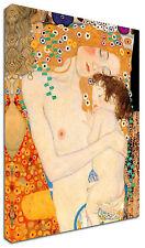 Quadro Moderno Arredamento Klimt Maternità Arredo Casa Arte Stampa su tela