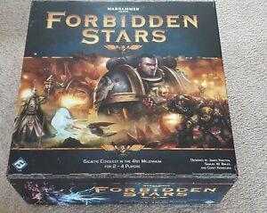 Warhammer 40K FORBIDDEN STARS Board Game  - Excellent Condition