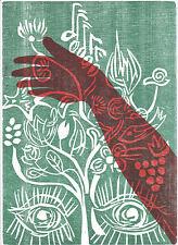 Regina Schuh - Kreativ - Farb-Holzschnitt, signiert