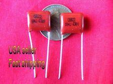 12pc .1uF (0.1uf, 100nf) 630v metallized film poly, 5% tol, 85C temp (L)