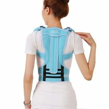 Professional Adult Aluminium Alloy Back Posture Brace Corrector Shoulder Support