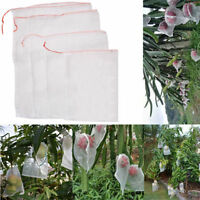 50 in1 Garden Plant Fruit Protect Drawstring Net Mesh Bags Anti Insect Pest Bird