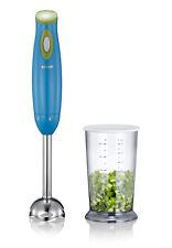 Khapp 15210001 Design Stabmixer Neon Blau blue Mixer mit 1 L Tasse 250 Watt