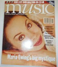 Music Magazine Maria Ewing Cherkassky November 1995 032515R2