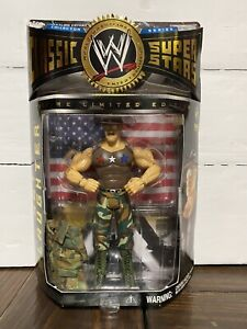 WWF WWE JAKKS CLASSIC SUPERSTARS TOYFARE Exclusive SGT. Slaughter