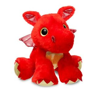 """Soft Toy/Plush ~ Sparkle Tales ~ SIZZLE ~ Dragon 12"""" ~ Red"""