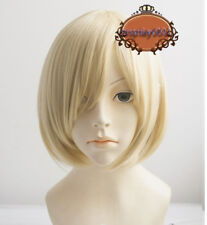 Yuri!!! on Ice Plisetsky Yuri Wig Light Blonde Hair Cosplay Wig