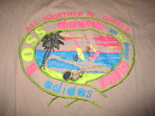 Vintage Adidas Puma DEE Label - ALL TOGETHER IN GREECE (MD) T-Shirt WIND SURFING
