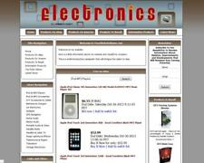 ELECTRONICS STORE - Premium Affiliate Website Business For Sale + FREE DOMAIN!