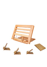 More details for folding book stand shtender - bamboo