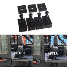 Black Rear Seat Recline Bolts & Washers Kit For 07-18 Jeep Wrangler JK Unlimited