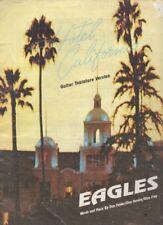 "THE EAGLES   Rare 1977 Australian Only Original Sheet Music ""Hotel California"""
