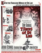 7 FACES OF DR. LAO (DVD) 1964 FANTASY TONY RANDALL GEORGE PAL