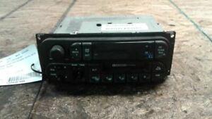 Radio Receiver 02 2002 Chrysler Voyager RAS Cassette Player P56038931AB