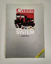 Ancienne Brochure Commerciale Canon System