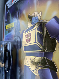 Super 7 Transformers Reaction Target Exclusive Gold Armor Bumblebee Free Shippin