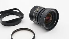 Leica Elmarit 21mm f2.8 Wide Angle Lens w Filter, Hood & Cap-Please Read