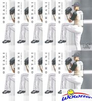 (10) SHOHEI OHTANI 2018 Leaf Premier Rookie #PR3 EXCLUSIVE RC Angels Pitching