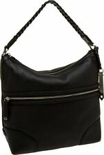 $298 NWT Cole Haan Village Zip Leather Hobo Bag in BLACK