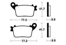 Plaquettes de frein Bendix MR334 Métal fritté.pour HONDA
