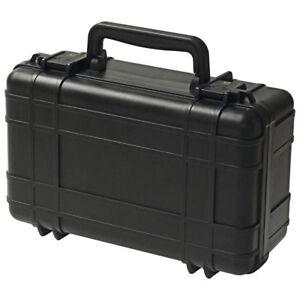 UK wasserdichte DryBox 309, schwarz, + Würfelschaum, Kamera Ausrüstung
