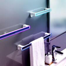 Bathroom Toilet Hand Towel Rail Rack Holder Wall Mount Single Racks Suction Cup