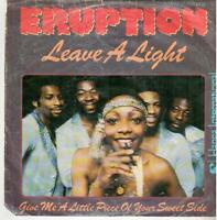 "<4401-16> 7"" Single: Eruption - Leave A Light"
