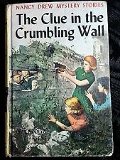 Nancy Drew #22, The Clue in the Crumbling Wall (1945 Edition) - Hardback