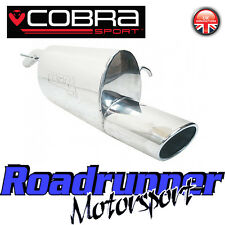 VC31 Cobra Sport Corsa D 1.2 & 1.4 Stainless Rear Silencer Back Box Exhaust