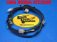 1986 Only Honda ATC250R  OEM replica wiring harness direct fit