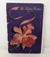 VTG 1952 The Perfect Hostess Nancy Prentiss Westmorland Table Setting Book TT20
