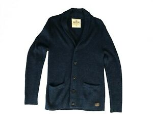 Hollister Men's Cardigan, Hollister Men's Knit Cardigan, Hollister Sweater, Sz S