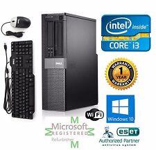 Dell Optiplex Desktop Computer Intel Core i3 Window pro 64 500gb 3.1ghz 16gb