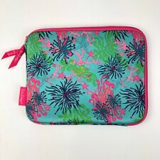Lilly Pulitzer IPad Tablet Soft Zippered Case Sea