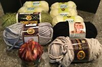 Lion Brand Yarn ~ Fun, Homespun, Hometown, Incredible, Fettuccini, Vanna's Choic