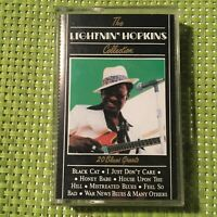 The Lightnin' Hopkins Collection 20 Blues Greats Audio Cassette Tape Album