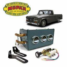 1961-80 Dodge D-Series Truck Under Dash Auxiliary Cab Heater Box 426 hemi v8 css