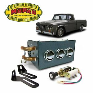 1961-80 Dodge D-Series Truck Under Dash Auxiliary Cab Heater Box 426 hemi v8 css