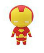 Marvel Iron Man Figural Rubber Key Chain Anime Manga NEW