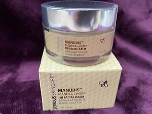 Serious Skincare Manubis Manuka Honey Hemp Seed Oil Facial Balm 1 oz NIB Fresh
