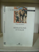 Paul Bourget - Sensations Italia - 1992 - Ediciones Armand Colin