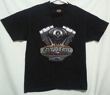 Harley-Davidson Mens L Black T-Shirt Fathead Twin Cam 88 Indianapolis Southside