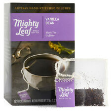 Mighty Leaf Vanilla Bean 15 Whole Leaf Tea Pouches - Authorized Seller